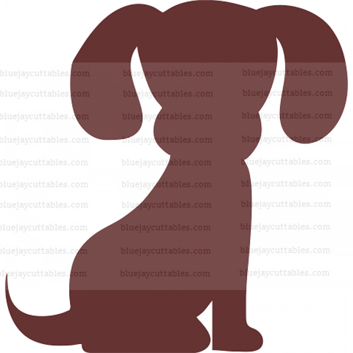 Cute Little Puppy Dog Cuttable SVG and Printable PNG File