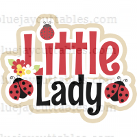 Little Lady Bug Cuttable SVG and Printable PNG File