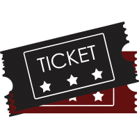 Movie Tickets Cuttable SVG and Printable PNG File
