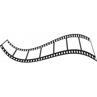 Piece Of Movie Film Cuttable SVG and Printable PNG File