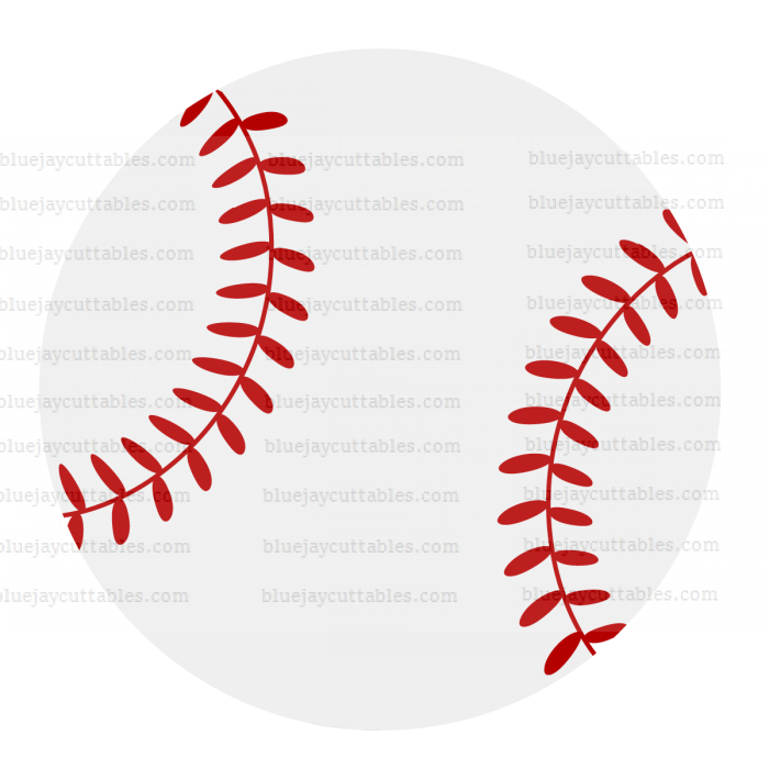 Baseball Sports Cuttable SVG and Printable PNG File