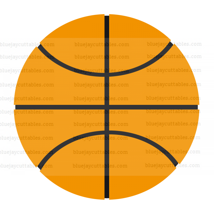 Basketball Sports Cuttable SVG and Printable PNG File