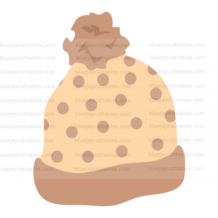 Winter Hat Cuttable SVG and Printable PNG File