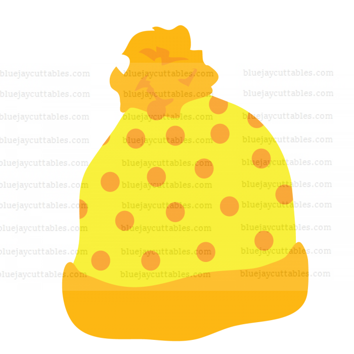 Yellow Hat Cuttable SVG and Printable PNG File