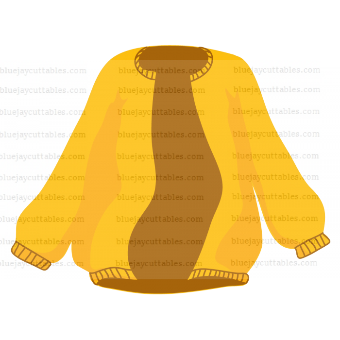 Coat Cuttable SVG and Printable PNG File
