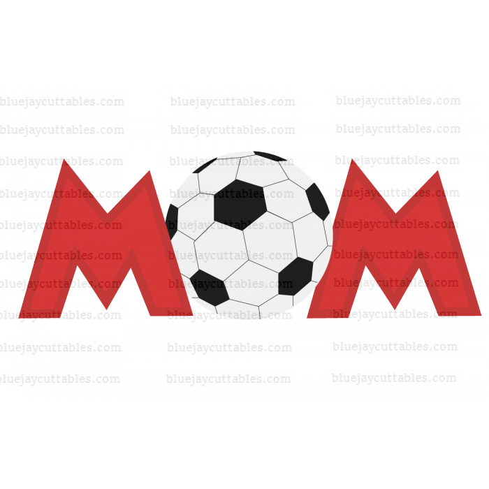 Soccer Mom Sports Cuttable SVG and Printable PNG File